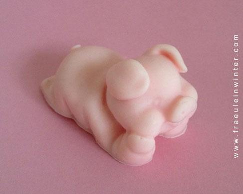 Glücksschweinchen - handmade soap