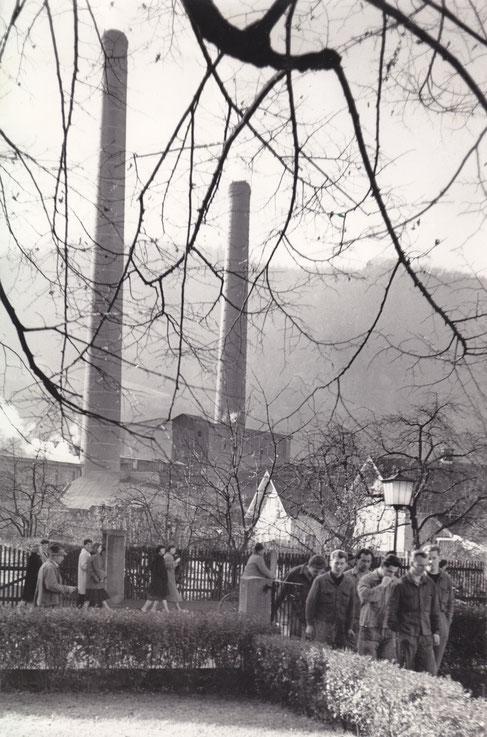 Halleiner Zellulosefabrik (© Keltenmuseum Hallein/Stadtarchiv)