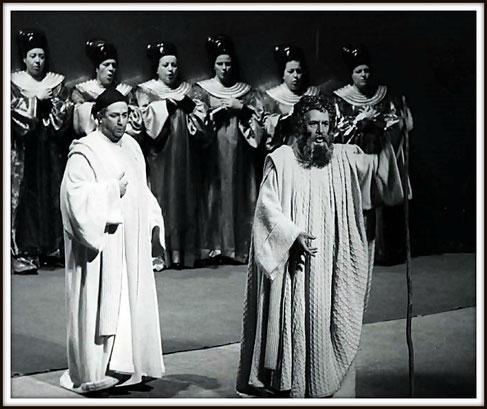 Mosè (Elisero) con Cesare Siepi (Mosè) - Venezia Teatro La Fenice 1974