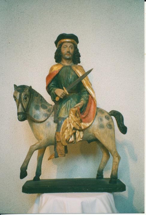 Sankt Martin nach der Restaurierung. (Foto: Beat Walde)
