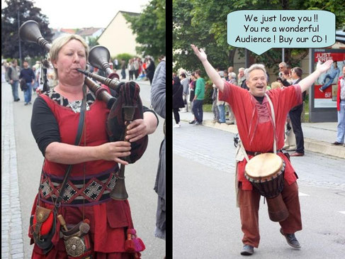 Auch bei der 1250 Jahr Feier in Weigheim..