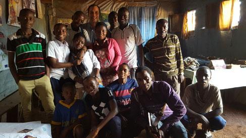 Membres du Parlement des Enfants  et personnel du projet - Panzi, Sud Kivu, RDC