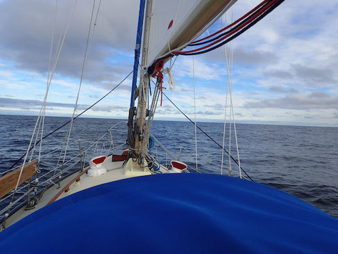 Horizontausschau: Die Barentssee ist ruhig...