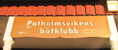 Patholmsvikens Båtklubb in Holmsund