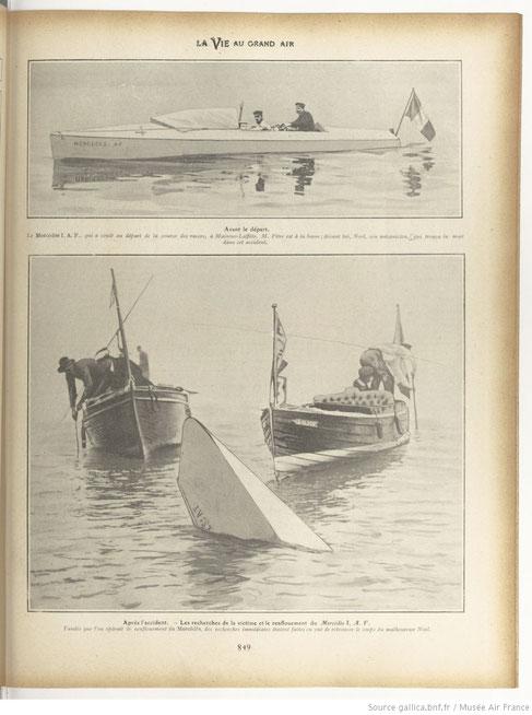 maisons-laffitte naufrage du mercedes en 1904