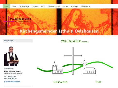 (C) Homepage Kirchengemeinde Istha/Oelshausen