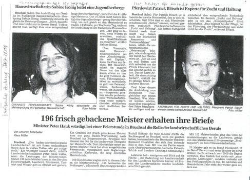 Karlsruher Zeitung Dez 2009