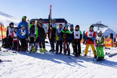 Die erfolgreichen Teilnehmer des SV Faaker See bei den Spittaler Stadtmeisterschaften 2015