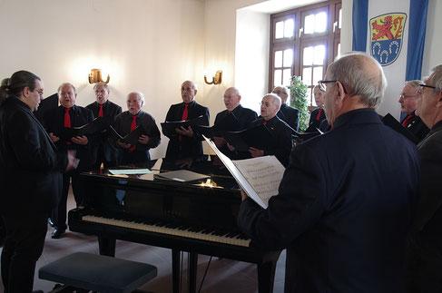 Gesangverein Sängerlust 1883 feierte an Palmsonntag (25.3.2018) sein 135-jähriges Bestehen mit einer Matinee