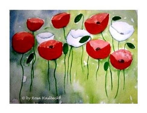 aquarell, mohnblumen, mohnblumenaquarell,, mohnblumenwiese, mohnblumenbeet, wiese, bild, handgemalt, gelb, kunst, bild, wanddekoration, dekoration, wandbild, art, malen, malerei,aquarell kaufen, kunst kaufen, bild kaufen