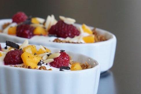 Granola Breakfast Tartes | clean gesund und fruchtig