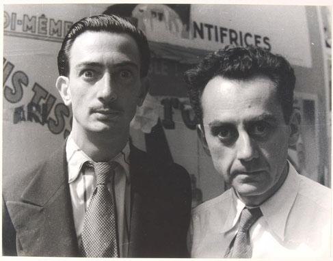 Salvador Dalí y Man Ray en París (1934)