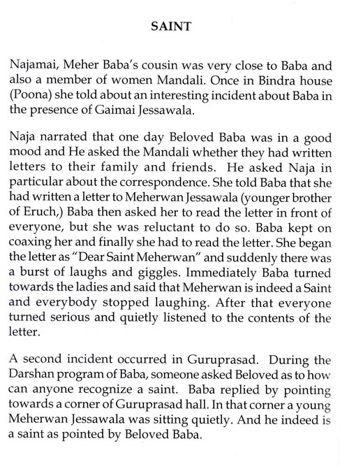 "Courtesy of ""Memorable Moments with Meher Baba"" by Faroukh Bastani - p.30"