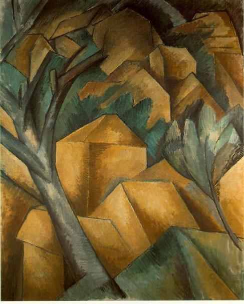 """Georges Braque, """"Case all'Estaque"""" (1908)"""