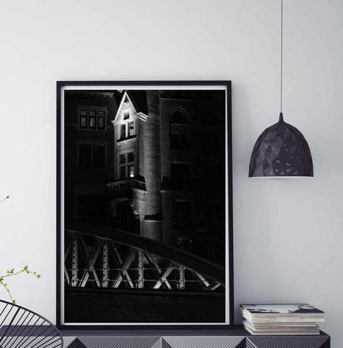 Fotografie Hamburg, Deutschland - Licht und Schatten