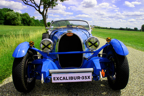 EXCALIBUR 35X VHC RALLYE COURSE COLLECTION ANCIENNE