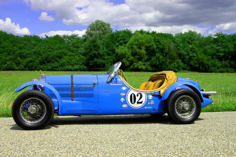 EXCALIBUR 35X ROADSTER VHC COURSE RALLYE COLLECTION