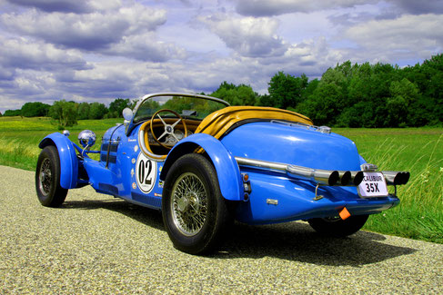 EXCALIBUR 35X ROADSTER VHC RALLYE COURSE VEHICULE COLLECTION