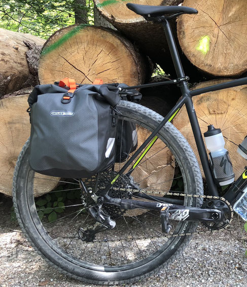 Specialized Chisel Expert, Ortlieb, Bikepacking
