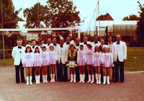 Festumzug beim Schützenfest 1976