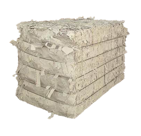 Shredded paper is used as padding in corrugated boxes