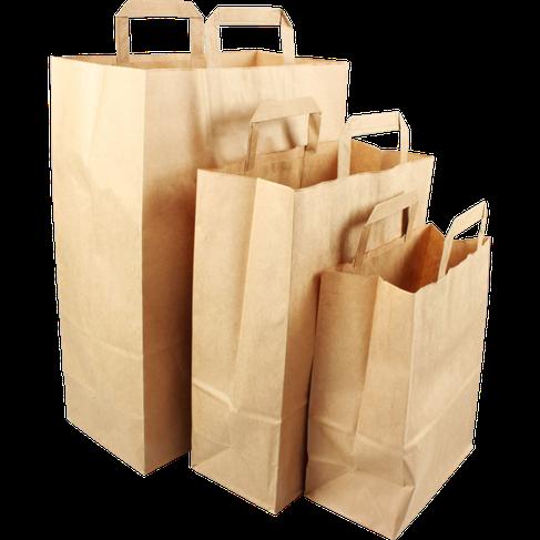 papieren draagtassen in diverse formaten Versteden tasjes van papier Tilburg online bestellen en kopen in onze webwinkel.