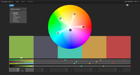 adobe color wheel Khumer par eyeonline agence marketing et webmarketing