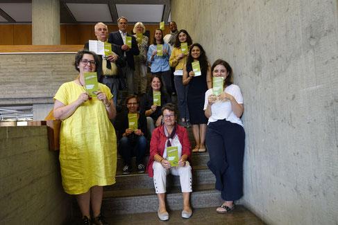 Unser Bild zeigt die Veranstalter der Interkulturellen Woche bei der Vorstellung des Programmes im Aalener Rathaus.