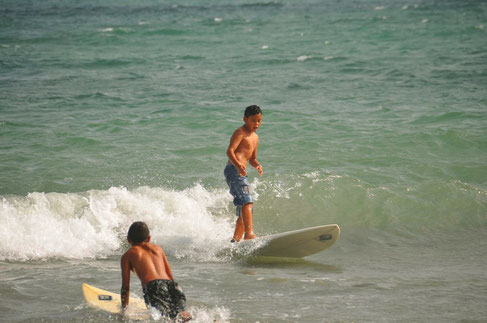 Surfing in Jericoacoara
