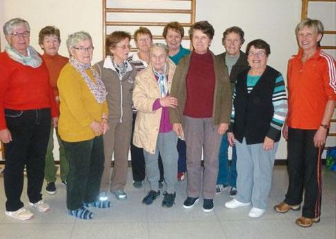"""Das Projekt """"Trittsicher durchs Leben"""" wurde für ältere Menschen im ländlichen Raum angeboten."""