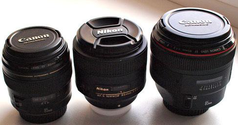 Canon EF 85/1.2L USM II
