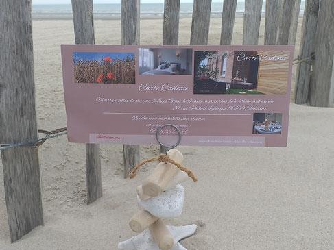 Plaisir d'offrir : une carte cadeau destination Portes de la Baie de Somme ! Maison d'hôtes Au Perron de la Baie à Abbeville !