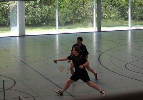 Matthias und Rainer in Aktion