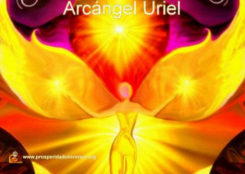 ARCÁNGEL URIEL - EL ARCÁNGEL DE LA PAZ, EL AMOR, LA PROVISIÓN Y LA ENERGÍA DE LA ABUNDANCIA - PROSPERIDAD UNIVERSAL - www.prosperidaduniversal.org