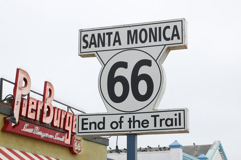 End of Trail: Route 66 in Santa Monica