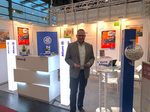 Allianz Hauptvertretung Jens Schmidt ist Aussteller auf der hanseBAU Messe Bremen 2020