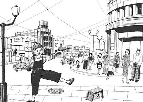 「新世」2014年11月号「思い出オルゴール」(倫理研究所)~東京キッド~