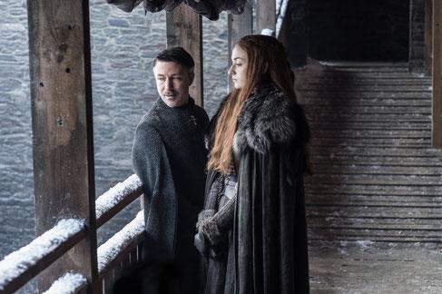 Der strahlende Stern des Nordens. Und Sansa.