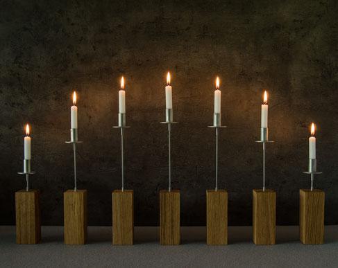 Moderner Lichterbogen, moderner Schwibbogen, zeitgemäß, puristisch, handwerk, moderne Pyramide, Räuchermann, modern christmas
