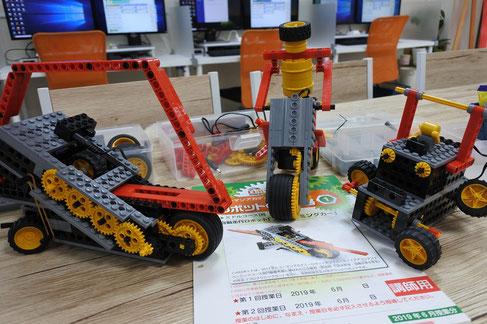 ヒューマンアカデミーロボット教室6月の課題ロボ