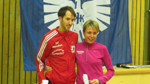 Gesamtsieger: Ramona Wied und Tim Sidenstein (weitere Foto´s unten...)