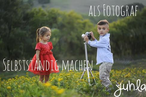 Je früher man den Schritt in die Selbstständigkeit als Fotograf wagt, umso besser.