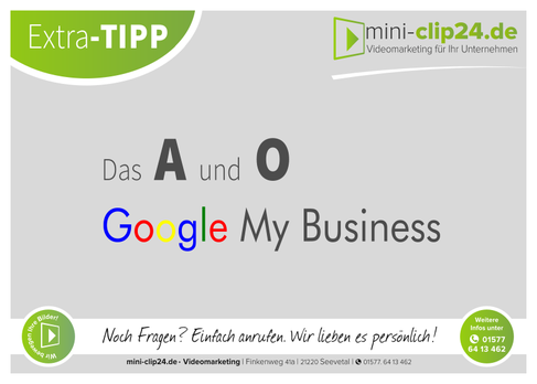 mini-clip24.de • Videomarketing - google my business