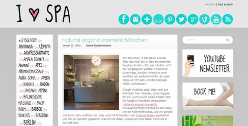 Kosmetikstudio Kosmetiksalon natural organic cosmetic Naturkosmetik