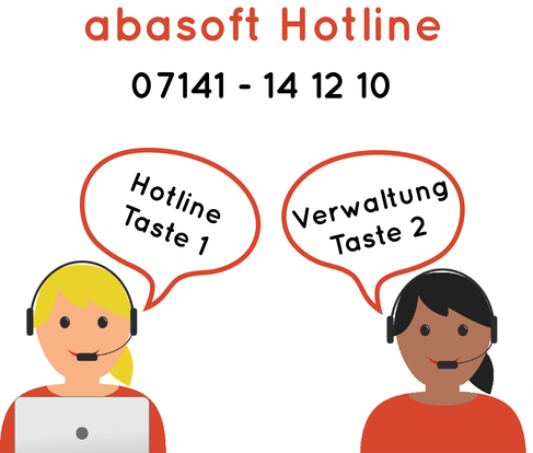 abasoft EVA Praxissoftware Arztsoftware Support Hotline