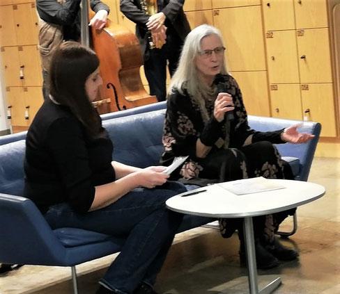 3. Sofa-Gespräch mit Ute Bruckinger