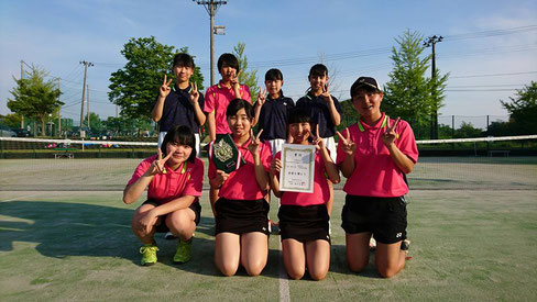 【女子】 第2位 宮内中学校