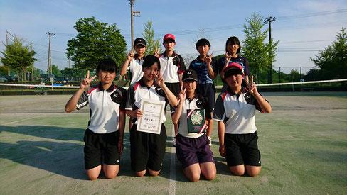 【女子】 第3位 中之島中学校