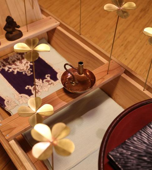 (中央)「水の見える花器」福成三太