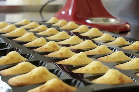 Madeleines, recette de Cupcake Follies, pâtisserie à Nantes